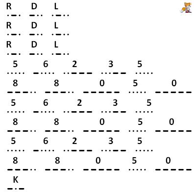 segnale in codice Morse