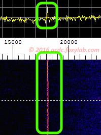 segnale VLF 18 kHz