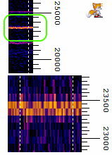VLF segnale 23.4 kHz