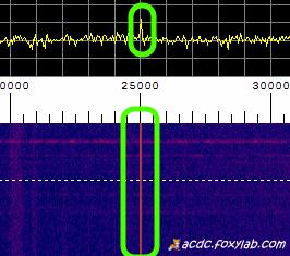 segnale VLF 25 kHz