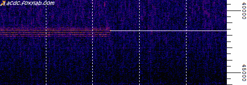 segnale VLF di 41.64 kHz