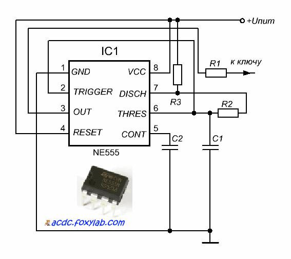 ключевого транзистора