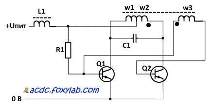 Простой инвертор для ccfl ламп своими руками