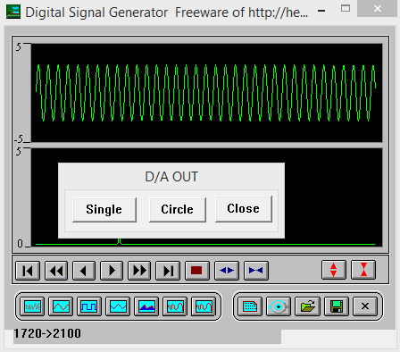 Digital Signal Genetator