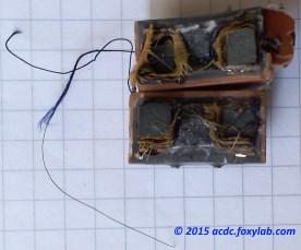 трансформатор МИТ-4 в разрезе