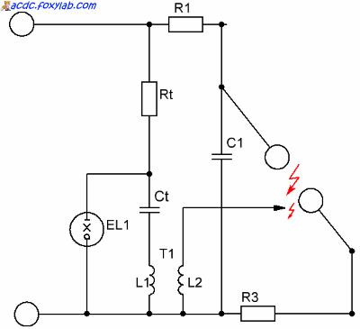 схема запуска генератора