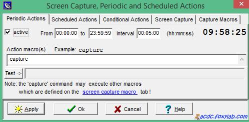 cattura dello schermo SpectrumLab